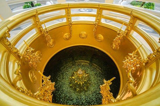 Wat Rong Khun: The wishing well