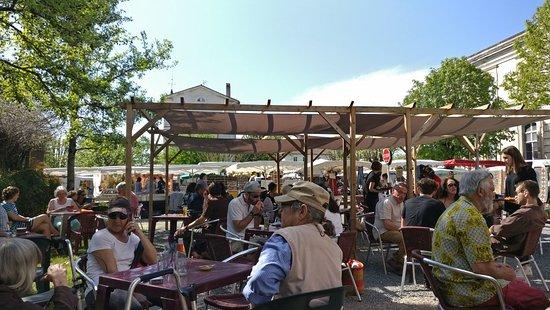 Riberac, Francia: Cafe Du Palais