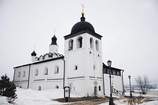Republic of Tatarstan, Russland: Храм Сергия Радонежского в Иоанно-Предтеченском монастыре.