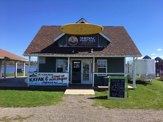 Shediac, Canada: Our Shack on Main St.