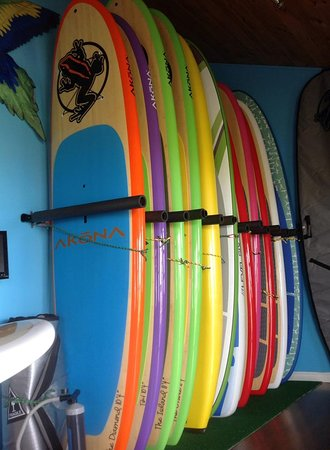 Shediac Paddle Shack: Boards for retail