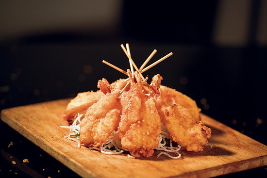 Mainland China: King Prawn Tempura to soothe your seafood cravings.