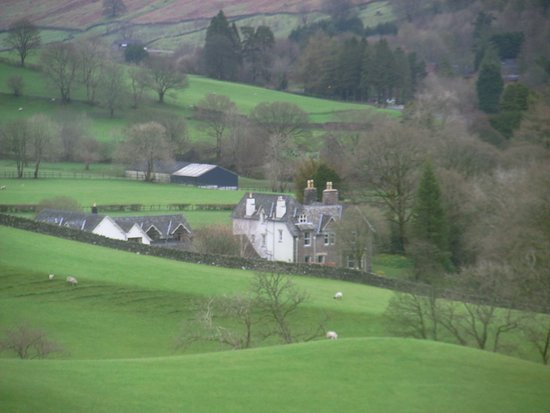 Troutbeck, UK: The view from the road outside