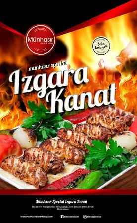 """Munhasir Doner & Kebap: """"Izgara Kanat"""""""