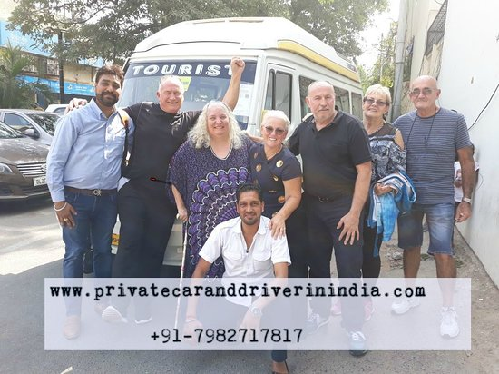 New Delhi, India: Raj with australian Group