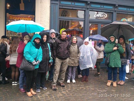 Buendia Tours : grupo de Uruguay en Brujas