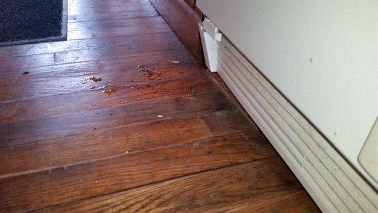 Byrdstown, TN: Start of leak from 2nd floor