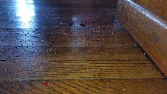 Byrdstown, TN: Start of leak in kitchen walk way