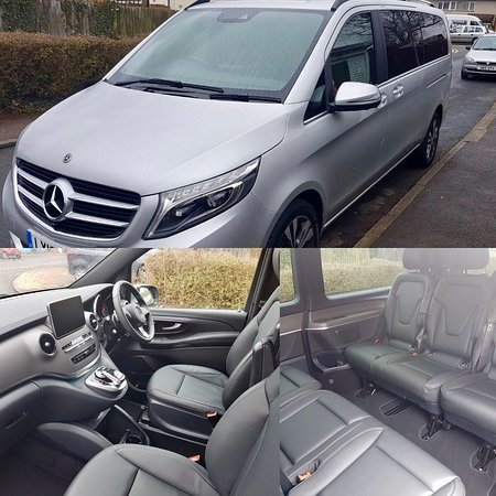 Stevenage, UK: Mercedes V Class, Suitable for 6 Passengers and 8 Suticases
