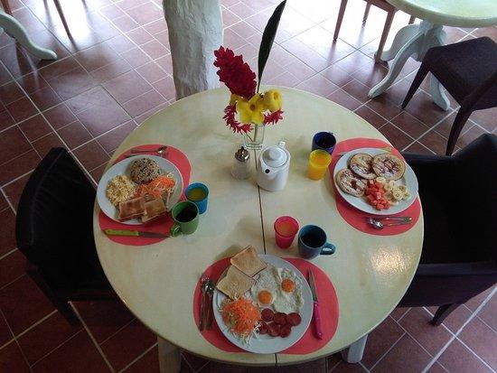 Cocles, Kosta Rika: Breakfast