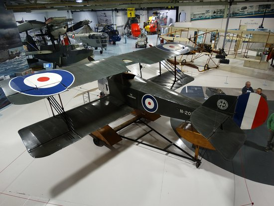 Fleet Air Arm Museum: Hall 1, the start of the journey.
