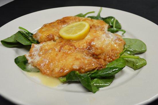 Juno Beach, FL: Chicken Francese