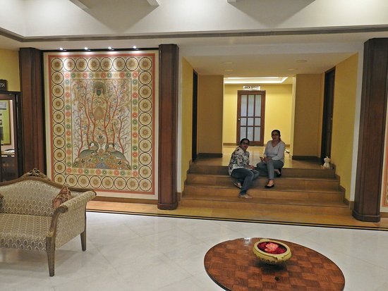 Club Mahindra Fort Kumbhalgarh: Reception area.