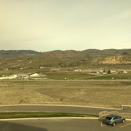 Omak, WA: View from Hotel Window