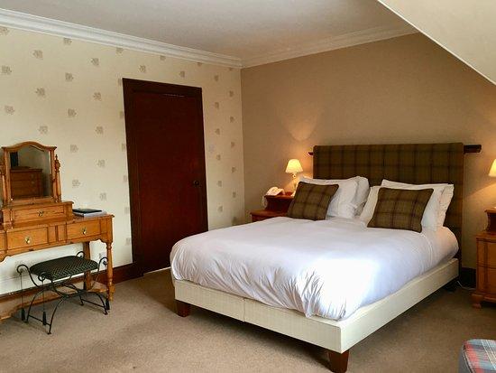 Dalrachney Lodge Hotel: Superior King en-suite