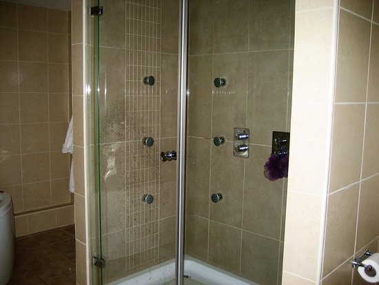 Mithian, UK: Double Shower in Rose Suite