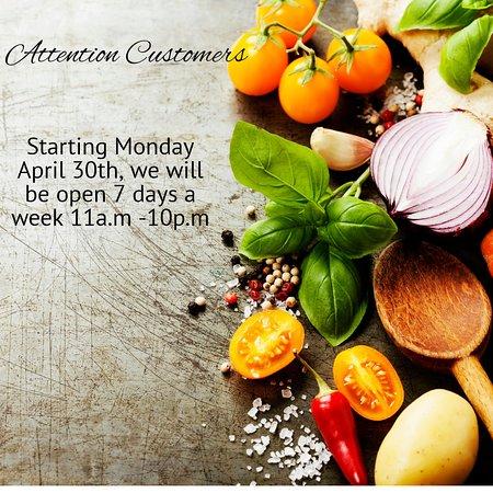 Westhampton Beach, NY: We're opening 7 days a week soon!