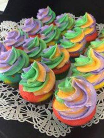 Irving's Market: Pride cupcakes!