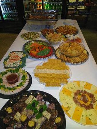 Irving's Market: Small example of catering options!
