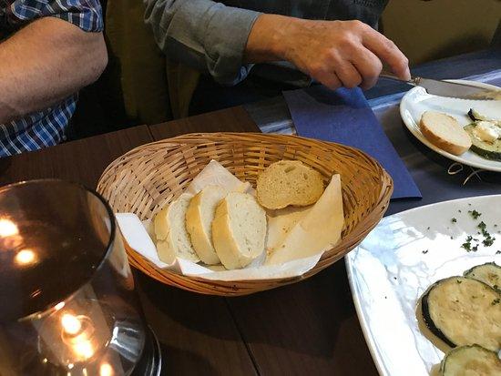 Herdecke, Alemania: For lidt og for tørt brød