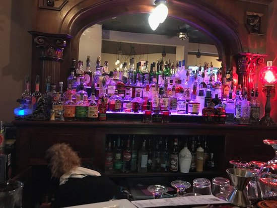 Jeffersonville, IN: A fully stocked bar. You can never go wrong here!