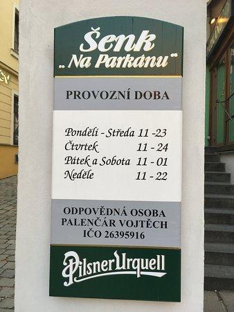 Muzeum Senk Na Parkanu Pub : Можно рассчитать время