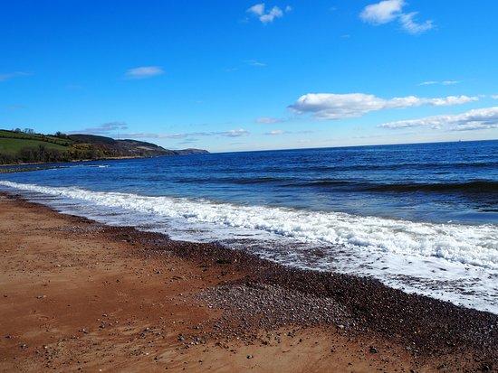 Plaża w Rosemarkie