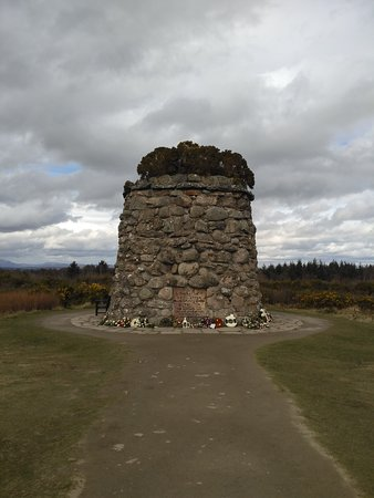 Culloden Moor, UK: Monument