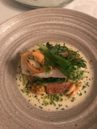 The Dining Room: Turbot Main meal again ......Perfection.....