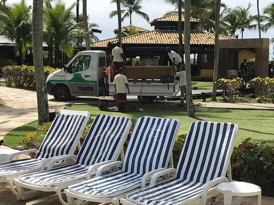 Hotel Transamerica Ilha de Comandatuba: Vista da piscina