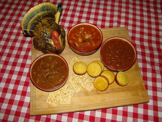 Greenville, AL: Turkey Gumbo, Turkey Vegetable, Turkey Chili