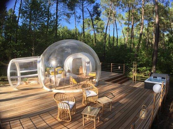 Les Bulles De Bordeaux Prices Campground Reviews Salleboeuf
