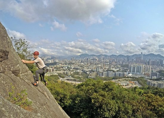 Hong Kong Rock Climbing Adventure