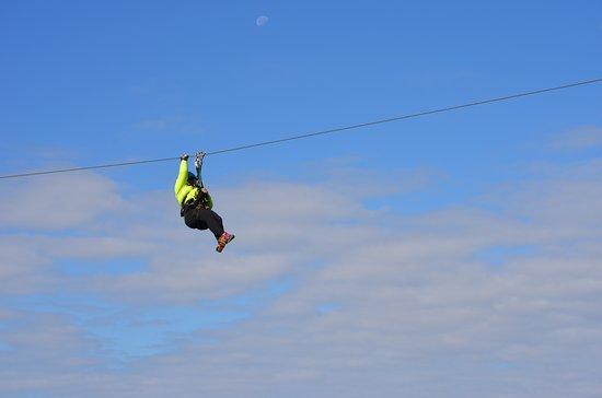 Scaly Mountain, North Carolina: Soar like an eagle above the treetops!