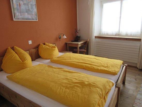 Gasthaus & Hotel Berninahaus: Cozy duvets