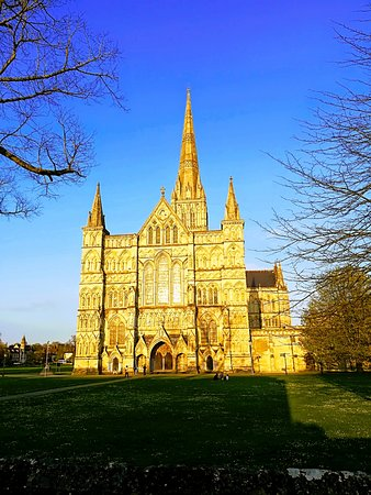 Cathedral View: Salisbury Cathedral