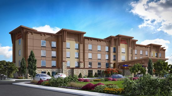 Rendering of the Hampton Inn & Suites Roseburg
