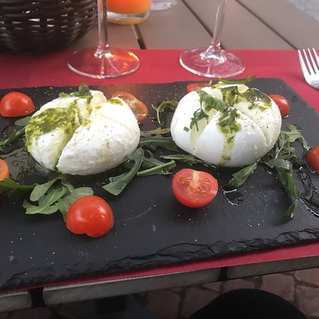Grunberg, Германия: Maffig mozzarella
