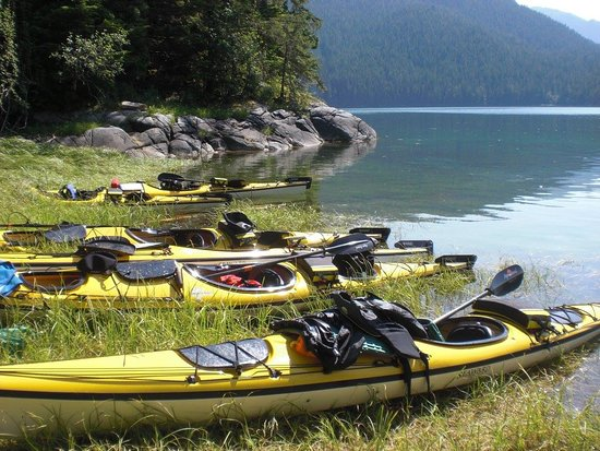 Kitimat, Canada: Shore time