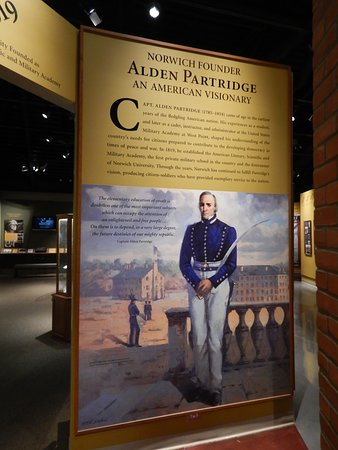 Northfield, VT: Norwich University founder, Alden Partridge.