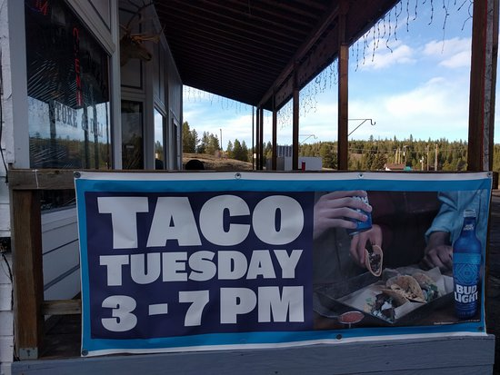 Meacham, OR: Taco Tuesday WOOT!!