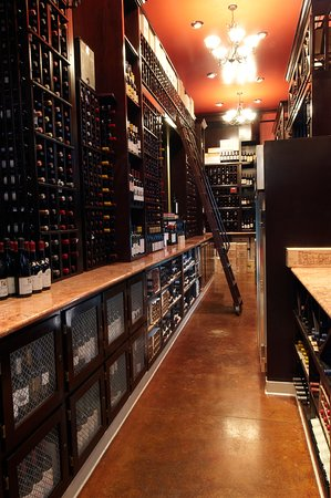 Tustin, CA: The wine cellar