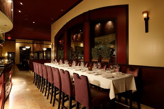 Tustin, CA: Enjoy dinner at the Chef's tables for an interactive experience
