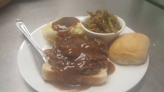 Cotter, AR: Tuesday Open faced roast beef