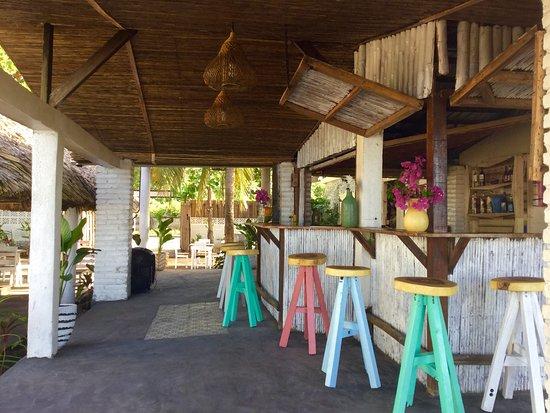 Las Penitas, Nicaragua: Our cozy bar...