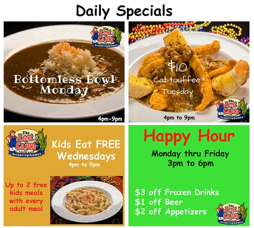 Mansfield, TX: Our amazing daily specials!