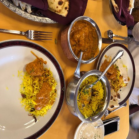 Copper Chimney Restaurant: Chicken better and beryani