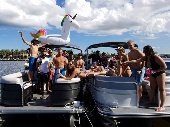 Staying Afloat Party Boat
