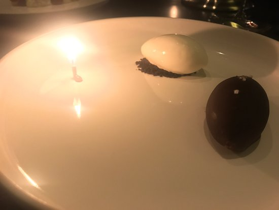 Eleven Madison Park: A birthday play on cookies and cream