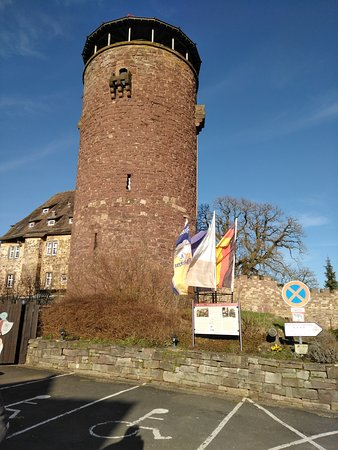 Trendelburg, เยอรมนี: Car View From Park